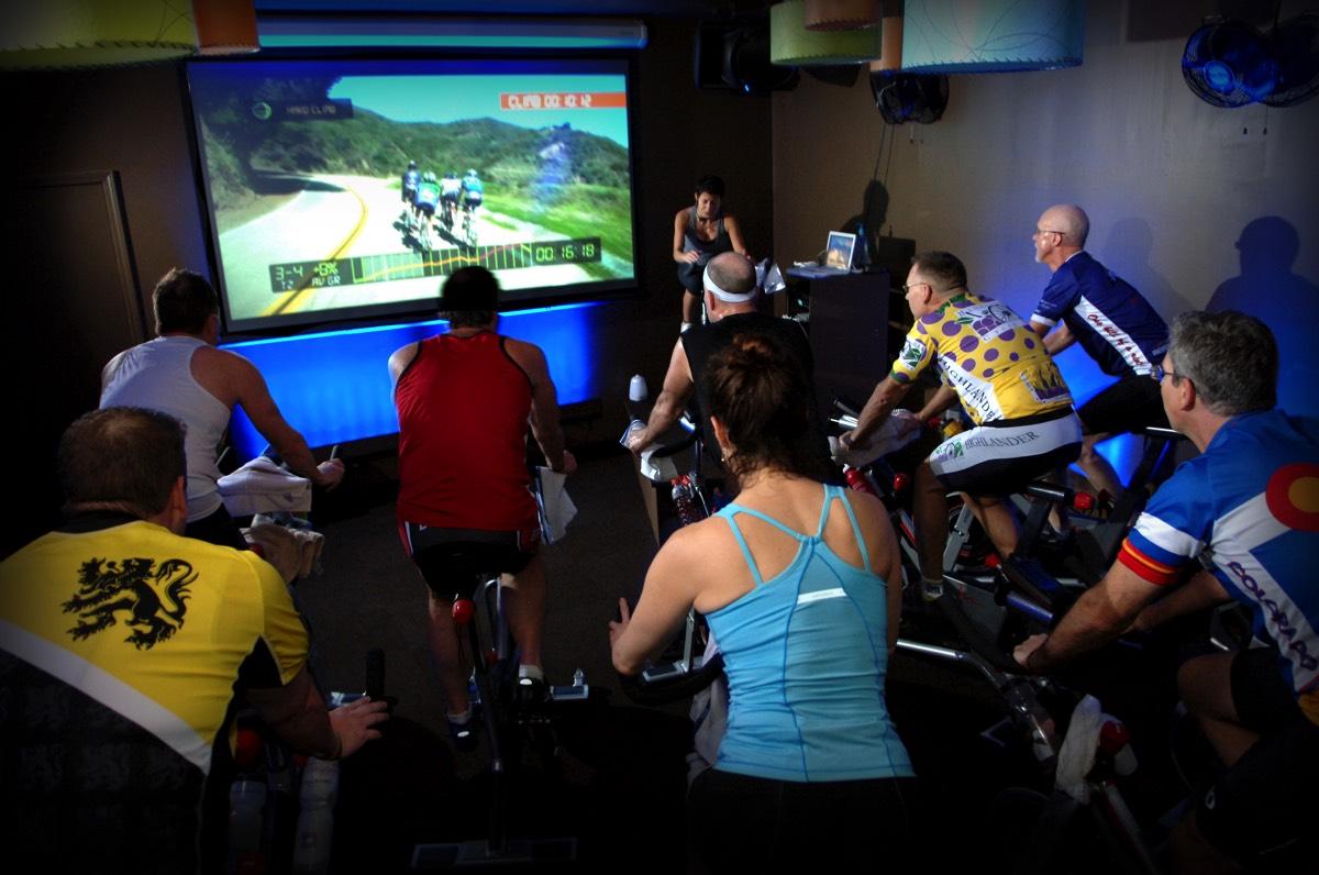 virtual cycling